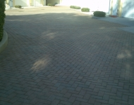 Commerical Brick Paver Sealing