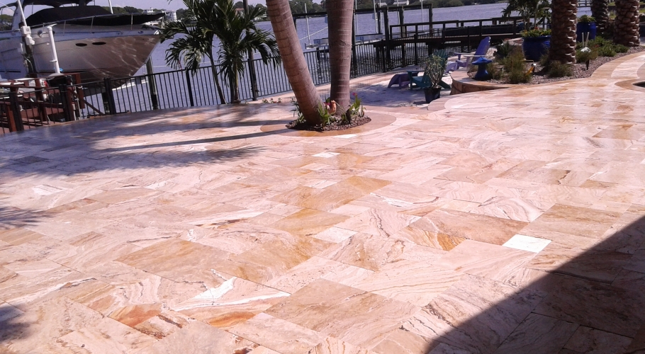 Travertine Sealing Experts